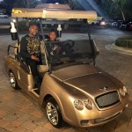 Floyd Mayweather buys 15-year-old son Bentley golf cart