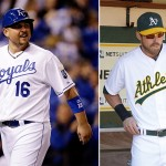 What did Billy Butler give Josh Reddick for his number? A winch