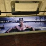 Marian Hossa in an ice bath; thanks, Reebok's Winter Classic ads (Photo)