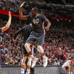 Warriors upend Bulls for 12th straight victory
