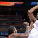Westbrook lifts Thunder by LeBron-less Cavs