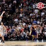 Kobe misses MJ mark, aids OT win over Spurs