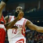 Harden pours in 44 as Rockets bury Blazers