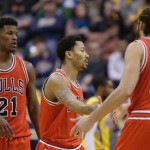 Bulls edge Pacers to extend win streak to 7