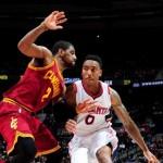Millsap lifts Hawks past LeBron-less Cavaliers