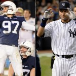 Penn State hero occupied Derek Jeter's locker at Pinstripe Bowl