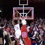 Trevor Lacey's game-saving shot comes a tenth of a second too late
