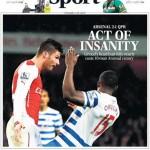 Watch Arsenal vs QPR Match Highlights [VIDEO]