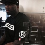 50 Cent shows off award for 'memorable' first pitch