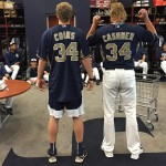 Padres Andrew Cashner meets his lookalike teammate