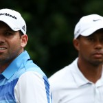No love lost between Saturday playing partners Tiger Woods, Sergio Garcia