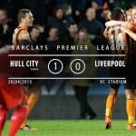 Watch Hull City 1-0 Liverpool match highlights [VIDEO]
