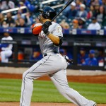 Giancarlo Stanton hits a home run that could probably kill a man