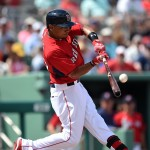 Mookie Betts dominates in all facets against the Nationals on Monday