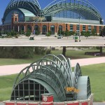 Brewers fan builds a working grill that's a replica of Miller Park