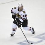 Timonen could be out of lineup for Blackhawks