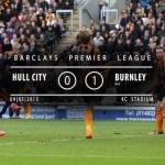 Watch Hull City 0-1 Burnley match highlights [VIDEO]