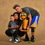 Riley Curry during dad Stephen's NBA championship photo shoot: 'It's my turn'