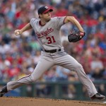 Max Scherzer cools off slightly, allows two runs in win against Phillies