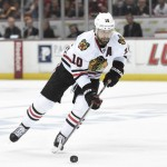 Cap-strapped Blackhawks trade Sharp to Stars