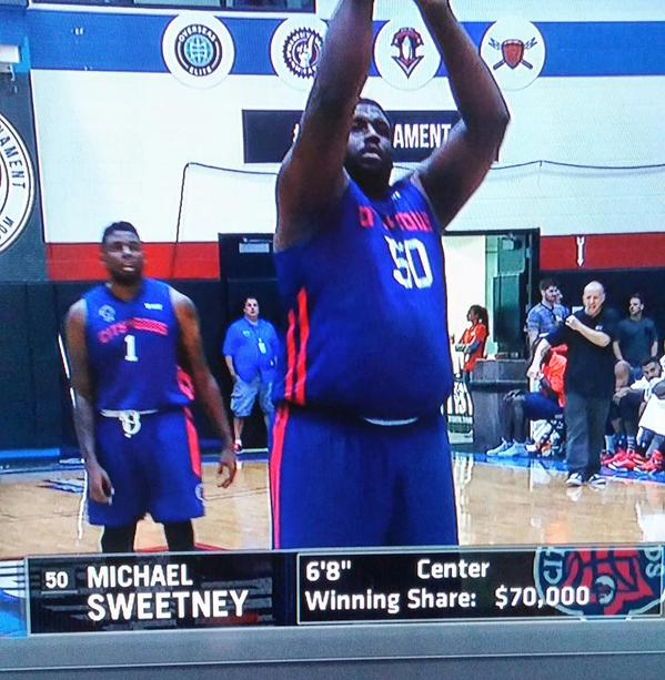 After depression, diet ended NBA career, ex-lottery pick Sweetney playing for $1M