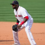 David Ortiz did something no Boston first baseman has ever done Sunday