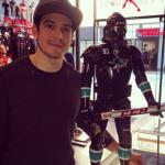 Matt Nieto succumbs to Dark Side with custom Star Wars figurine (Photos)