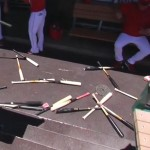 Erick Aybar tosses bats, awakens Angels offense ahead of comeback win