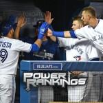 Power Rankings: Jays skyrocket into second