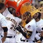 Starling Marte robs home run, hits walk-off blast for Pirates