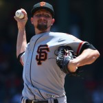 Mike Leake lands on disabled list after one start with Giants